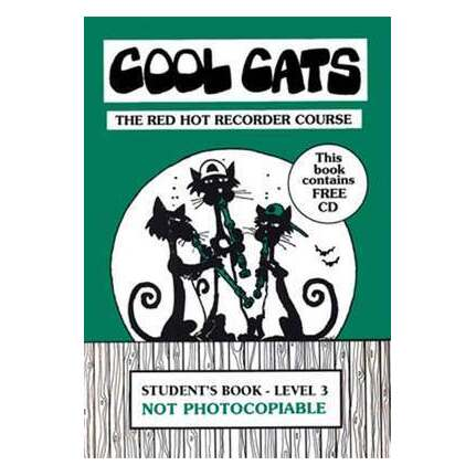 Cool Cats Red Hot Recorder Course Student Bk/CD Level 3
