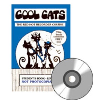 Cool Cats Red Hot Recorder Course Student Bk/CD Level 2
