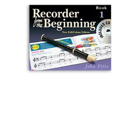 Recorder From the Beginning Pupils Book 1 Bk/CD