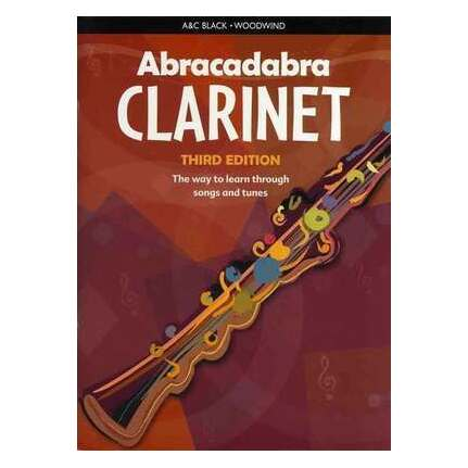 Abracadabra Clarinet Book Only 3rd Edition