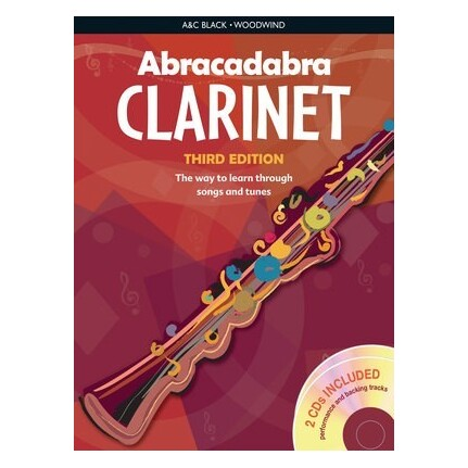 Abracadabra Clarinet Bk/CDs 3rd Edition