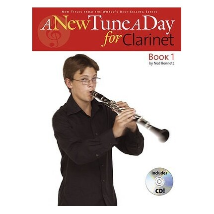 A New Tune A Day Clarinet Book 1 Bk/CD