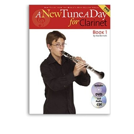 A New Tune A Day Clarinet Book 1 Bk/CD/DVD