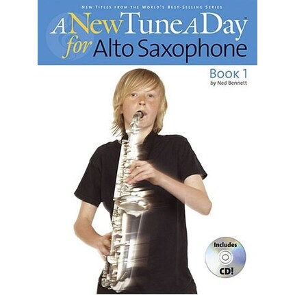 A New Tune A Day Alto Sax Book 1 Bk/CD