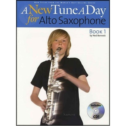 A New Tune A Day Alto Sax Book 1 Bk/CD/DVD