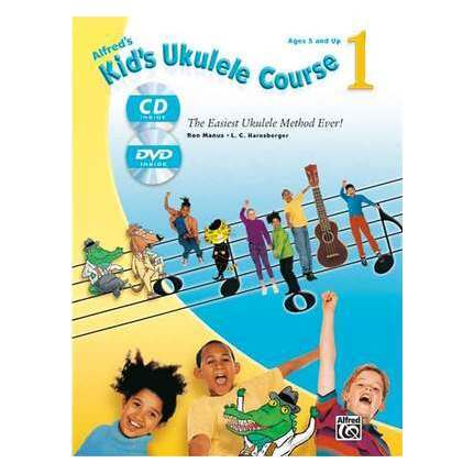 Alfred's Kid's Ukulele Course 1 Bk/Online Audio