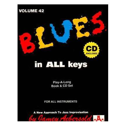 Blues in All Keys Vol 42 Bk/CD