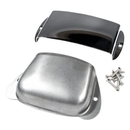 Fender Pure Vintage Precision Bass® Ashtray Cover Set, Steel/chrome
