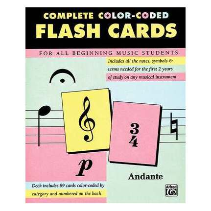Complete Colour-Coded Flash Cards