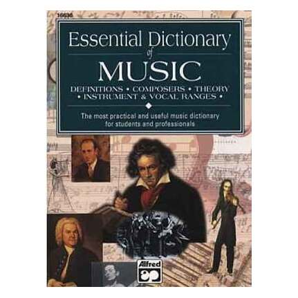 Essential Dictionary Of Music Pocket Size