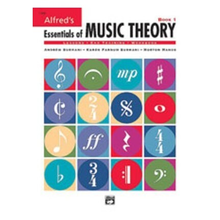 Alfred's Essentials Of Music Theory Book 1