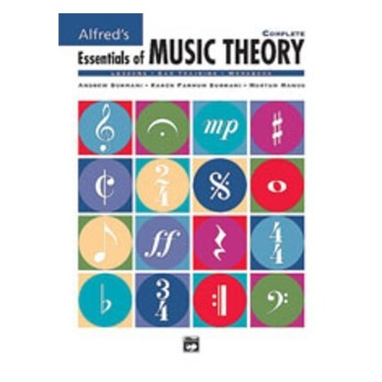 Alfred's Essentials Of Music Theory Complete Books 1-3