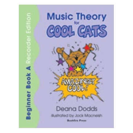 Music Theory For Cool Cats Beginner Bk A Recorder