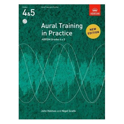 ABRSM Aural Training in Practice Grade 4-5 Bk/CDs