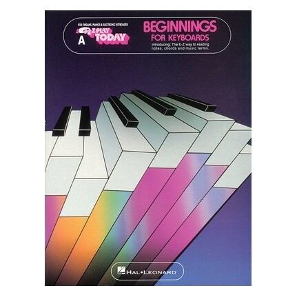 EZ Play Today Beginnings For Keyboards Book A