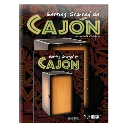 Getting Started On Cajon Bk/DVD