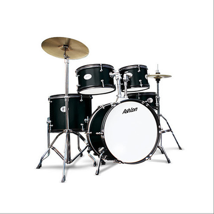 Ashton Joeydrums Bk (Black) 5-Piece Junior Drum Kit With Stool & Cymbals