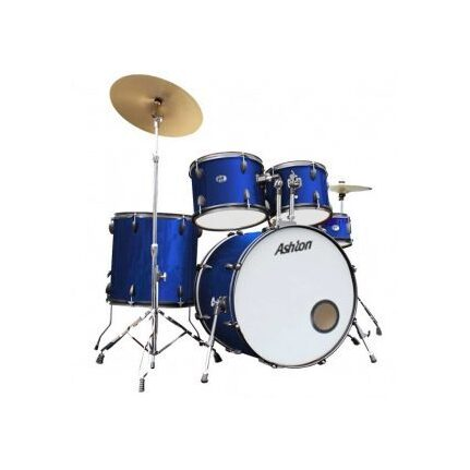 Ashton TDB522MB (Midnight Blue) Acoustic Drum Kit 5-Piece With Cymbals & Stool