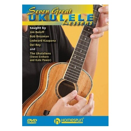 Seven Great Ukulele Lessons DVD