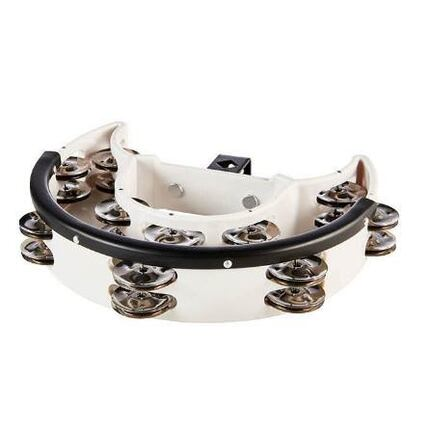 Ashton DRT20DWH Drum Set Tambourine White