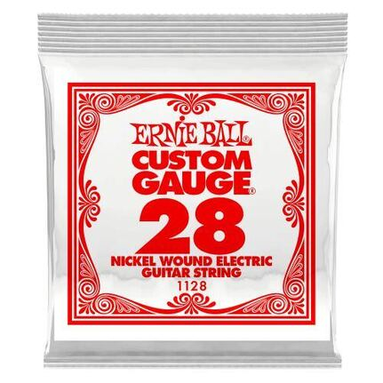 Ernie Ball 1128 .028 Nickel Wound Electric Guitar String Single