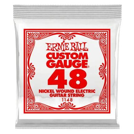 Ernie Ball 1148 .048 Nickel Wound Electric Guitar String Single