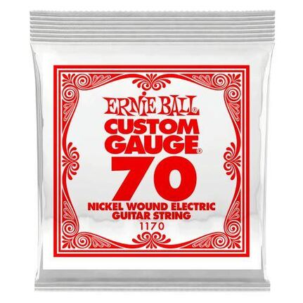 Ernie Ball 1170 .070 Nickel Wound Electric Guitar String Single
