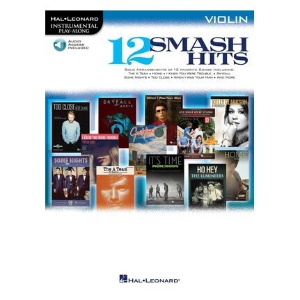 12 Smash Hits Violin Bk/CD