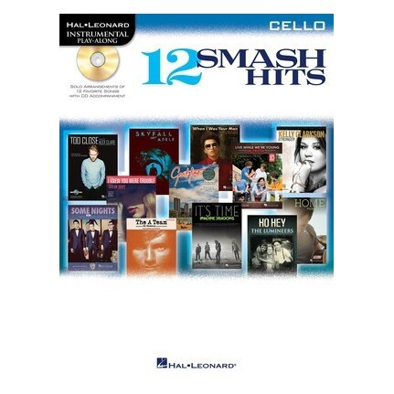 12 Smash Hits Cello Bk/CD