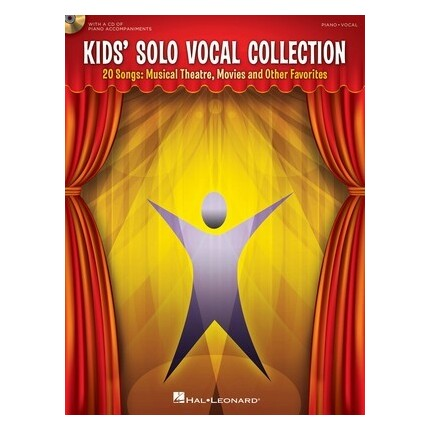 Kids Solo Vocal Collection Bk/CD