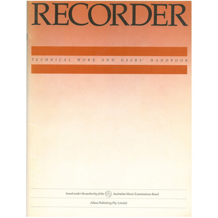 Ameb Recorder Technical Workbook