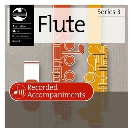 Flute Grade 1 Series 3 Recorded Accompaniments CD AMEB