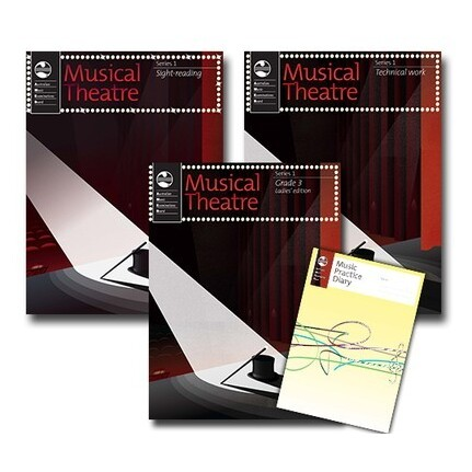 Musical Theatre Series 1 Grade 3 Ladies Student Pack AMEB