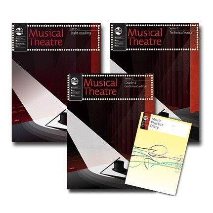 Musical Theatre Series 1 Grade 4 Mens Student Pack AMEB