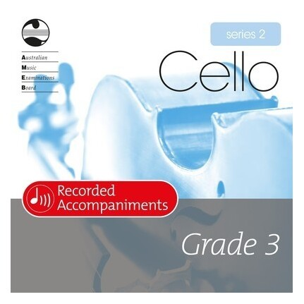 Cello Grade 3 Series 2 Recorded Accompaniments CD AMEB