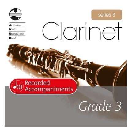 Clarinet Grade 3 Series 3 Recorded Accompaniments CD AMEB