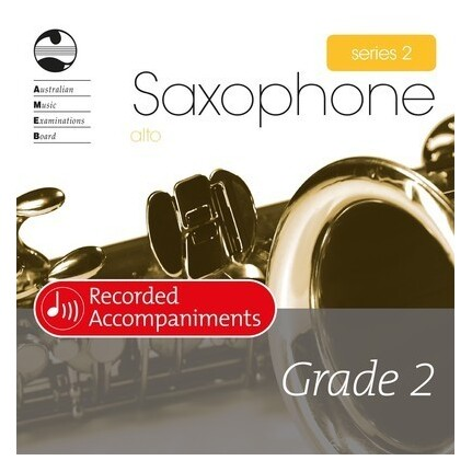 Alto Sax Grade 2 Series 2 Recorded Accompaniments CD AMEB