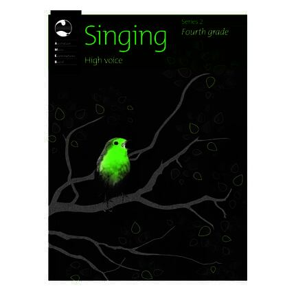 Singing High Voice Series 2 Grade 4 AMEB