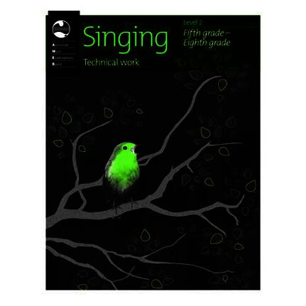 Singing Technical Work Level 2 Grades 5-8 AMEB