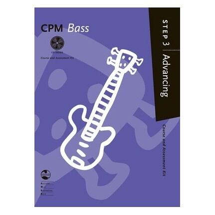 CPM Bass Advancing Step 3 Bk/CD AMEB