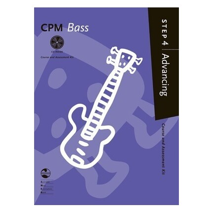 CPM Bass Advancing Step 4 Bk/CD AMEB