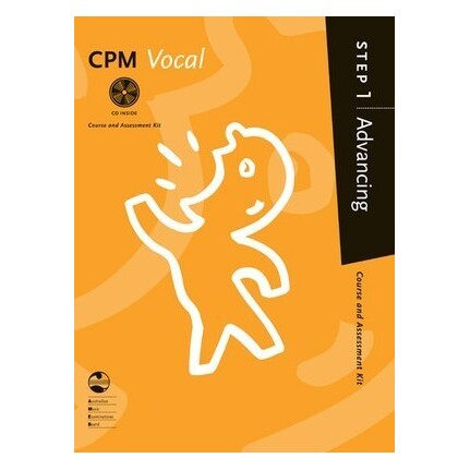 CPM Vocal Advancing Step 1 Bk/CD AMEB
