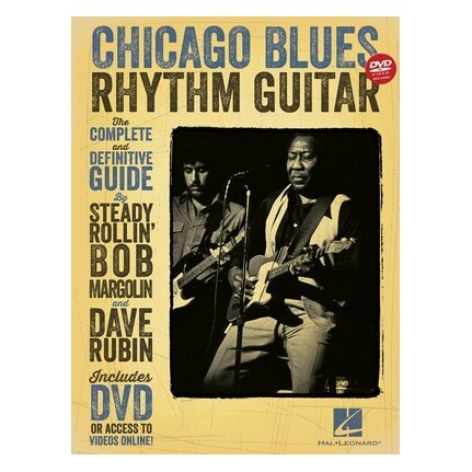 Chicago Blues Rhythm Guitar Bk/DVD