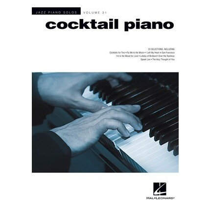 Cocktail Piano Jazz Piano Solos Vol 31