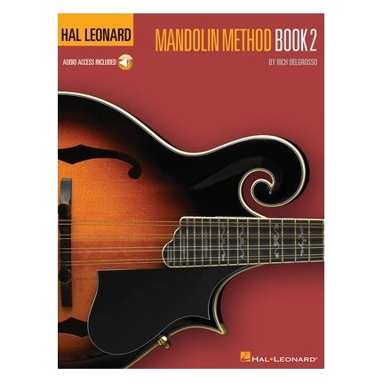 Hal Leonard Mandolin Method Book 2 Bk/Online Audio