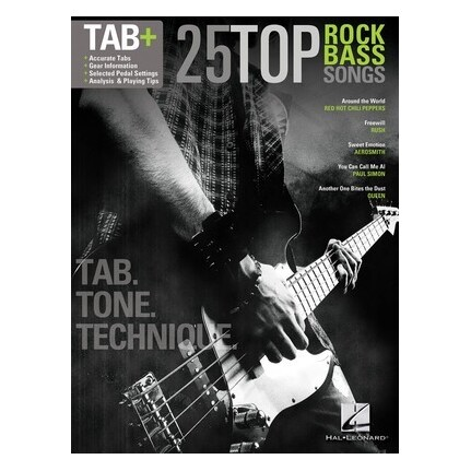 25 Top Rock Bass Songs