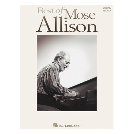 Best Of Mose Allison Piano/Vocal