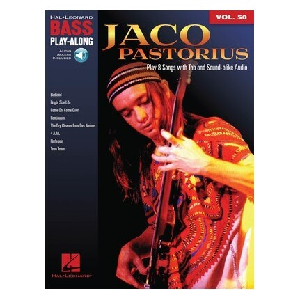 Jaco Pastorius Bass Play-Along Vol 50 Bk/Online Audio