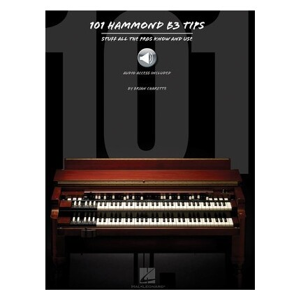 101 Hammond B3 Tips Bk/Online Audio