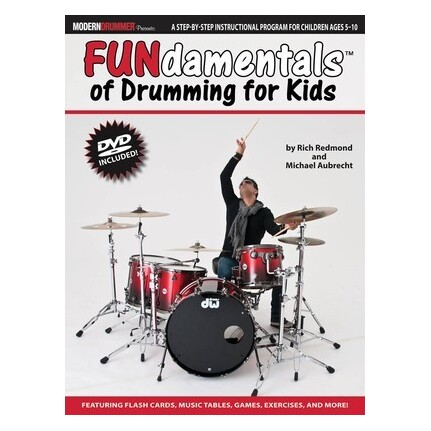 Fundamentals of Drumming For Kids Bk/DVD